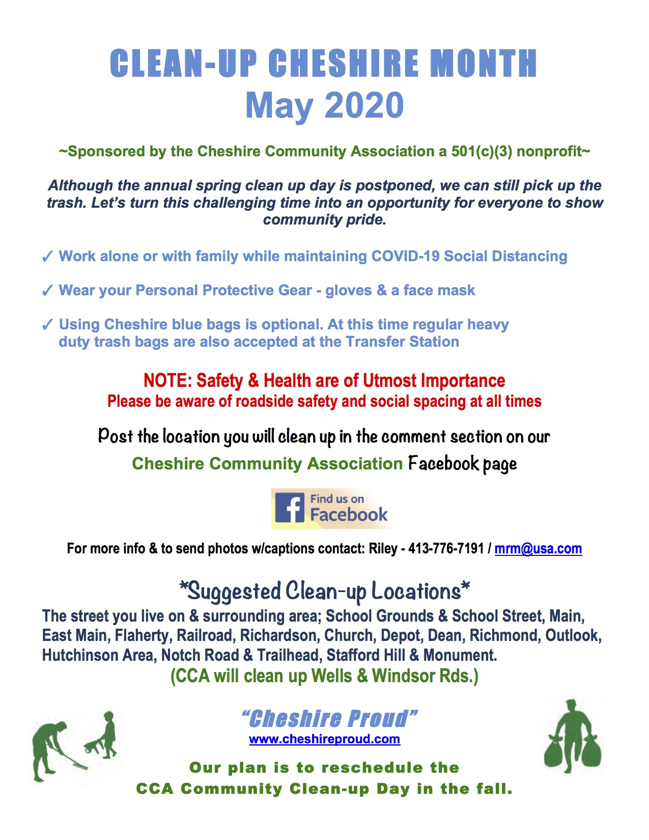 Image of Clean up Flyer May 2020